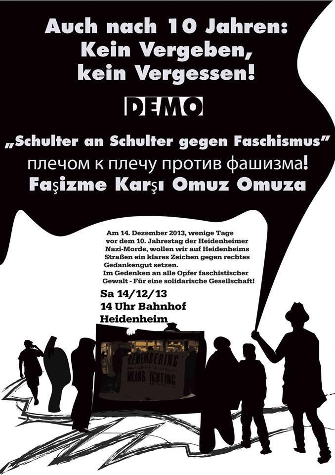 Gedenken Heidenheim 2013