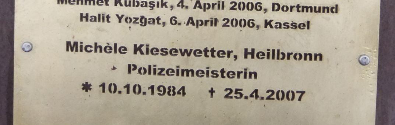 Erinnerungs-Stein an Kiesewetter
