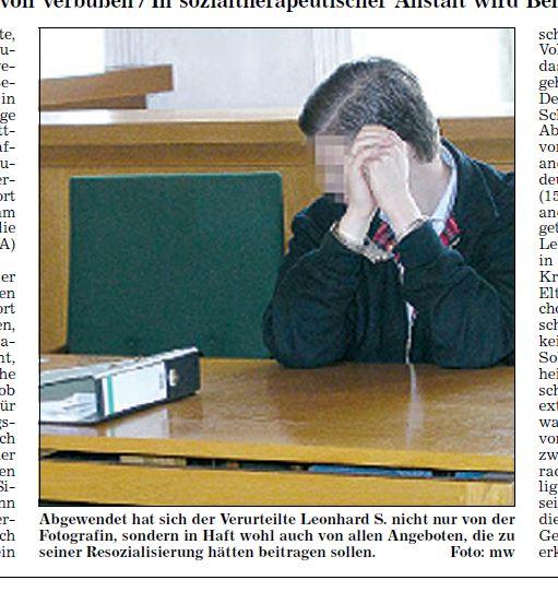 Täter von Heidenheim vor Gericht