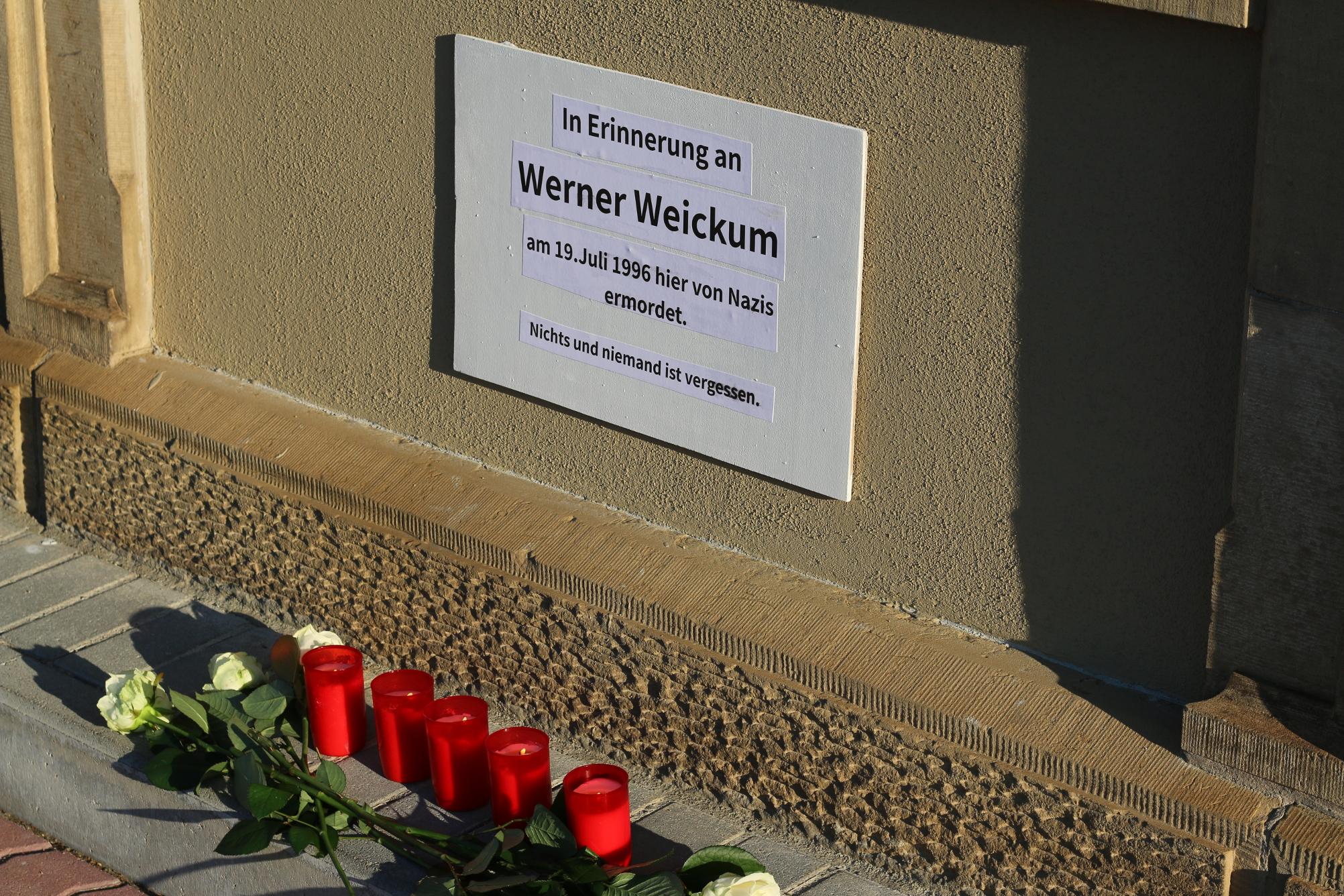 Weickum-Gedenken 2016